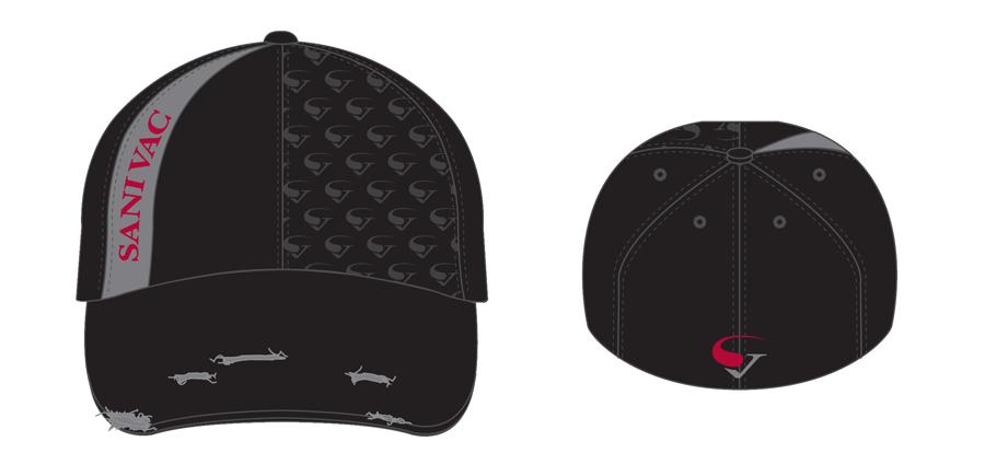 objets promotionnels: casquettes Sanivac