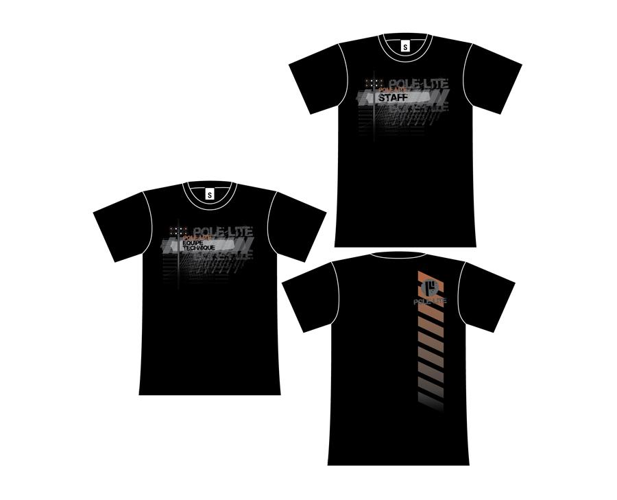 objets promotionnels: t-shirts Pole Lite