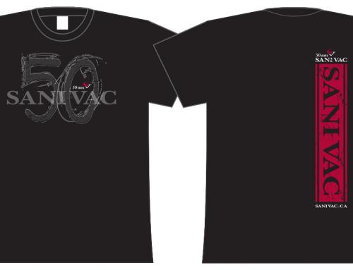 T-shirts 50 ans Sanivac