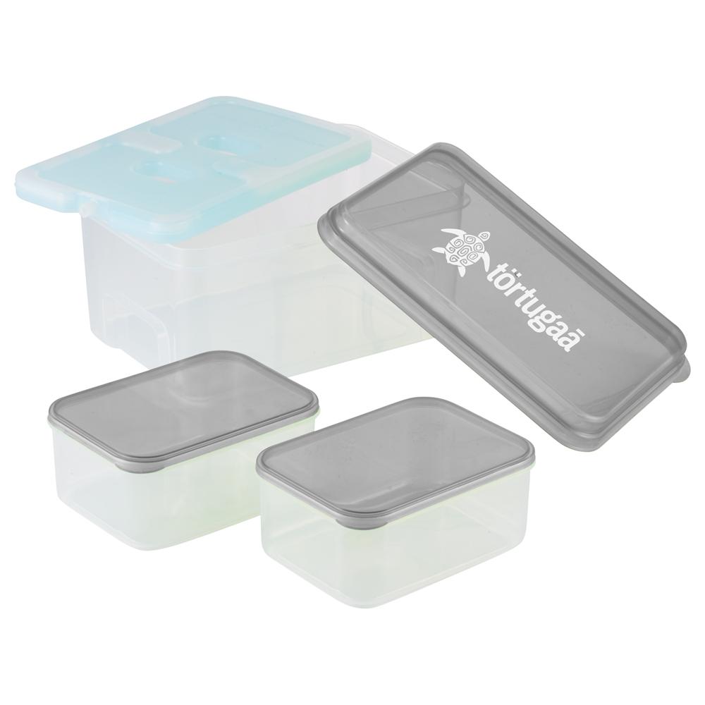 Publicité par l'objet - Ensemble repas 3 pièces avec ice pack