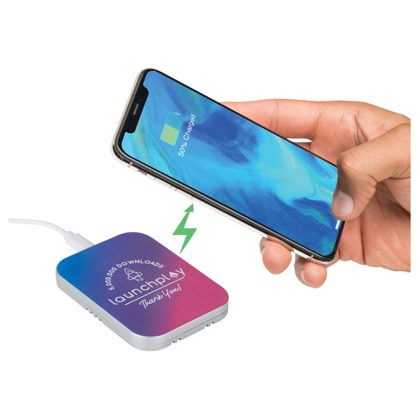 Publicité par l'objet - Tapis de recharge sans fil Equinox