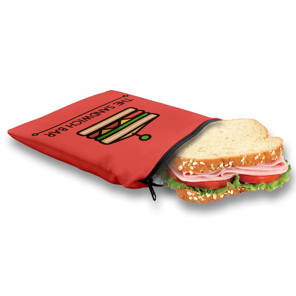 Publicité par l'objet - Sac à sandwich personnalisable